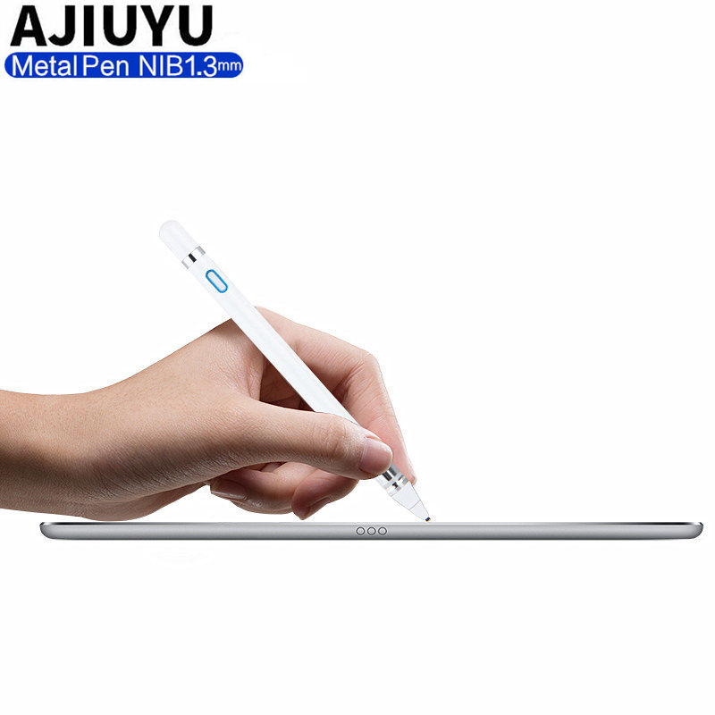 Pen Active Stylus Capacitive Touch Screen For Samsung Galaxy Tab S3 S2 S4 S5 8 9.7 10.1 10.5 A S E 9.6 8.0 7 9 Tablet Case Metal