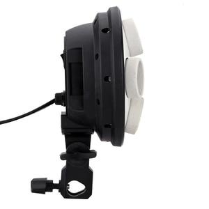 Image 3 - Andoer 4 في 1 التصوير إضاءة صور حامل E27 قاعدة المقبس ضوء المصباح الكهربي محول للصور فيديو استوديو سوفت بوكس
