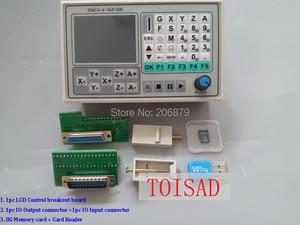 Image 1 - משלוח חינם 50KHZ CNC 4 ציר מחובר הבקר הבריחה לוח גילוף חקוק מכונה בקרת מערכת כרטיס SMC4 4 16A16B כלי