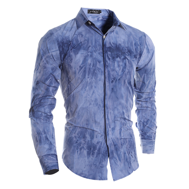 3e6f987d New 2016 Men Shirt Yellow Designer Famous Brand Casual Fashion Turn-down  Collar Long Sleeve