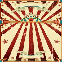 children kids photo backdrop High quality Computer print Carnival Circus Tent Stage Red Stripes Star Theme background