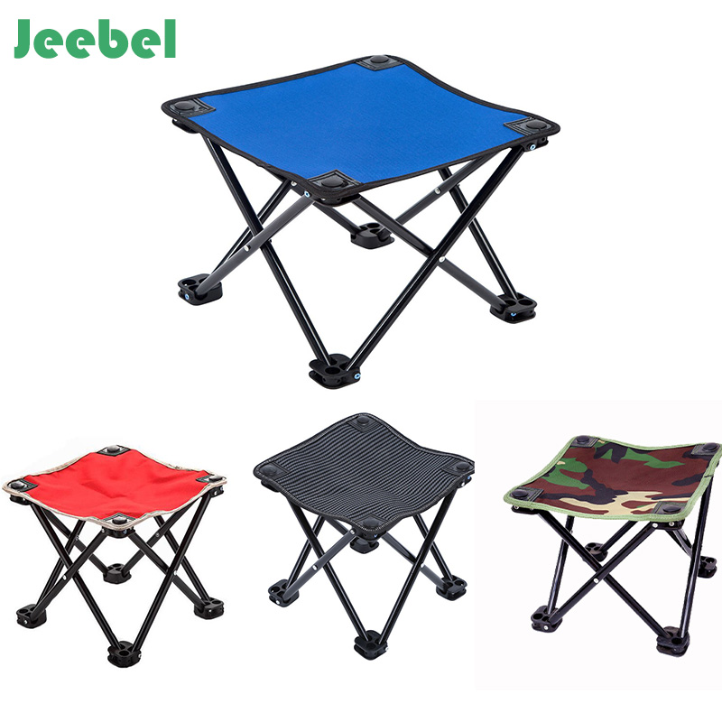 Jeebel Outdoor Furniture Aluminum alloy Folding Chair Fishing Picnic Garden Chair Oxford cloth Seat Outdoor waterproof Stool multi functional fishing chair massage chair outdoor folding fishing chair aluminum alloy fishing stool manufacturers wholesale