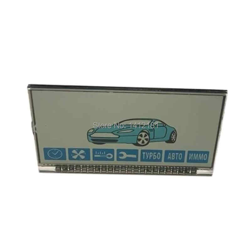 Wholesale A91 LCD display Screen for Two way car alarm system Starline A91 lcd remote control Keychain Key Fob Chain