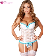 DangYan Sexy bodystocking with the stocking perspective erotic Lace Lingerie erotic costume sexy lingerie sex prodcut
