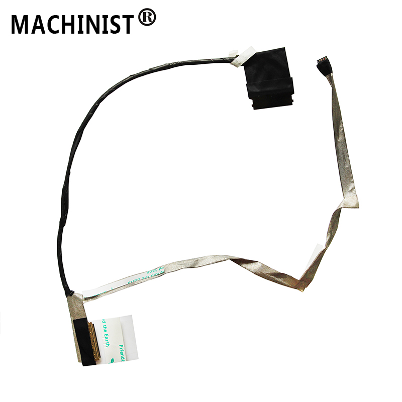 MACHINIST screen For HP 450 455 G0 G1 S15 laptop LCD LED LVDS Display Ribbon video cable 50.4YX01.001 727626-001 721936-001