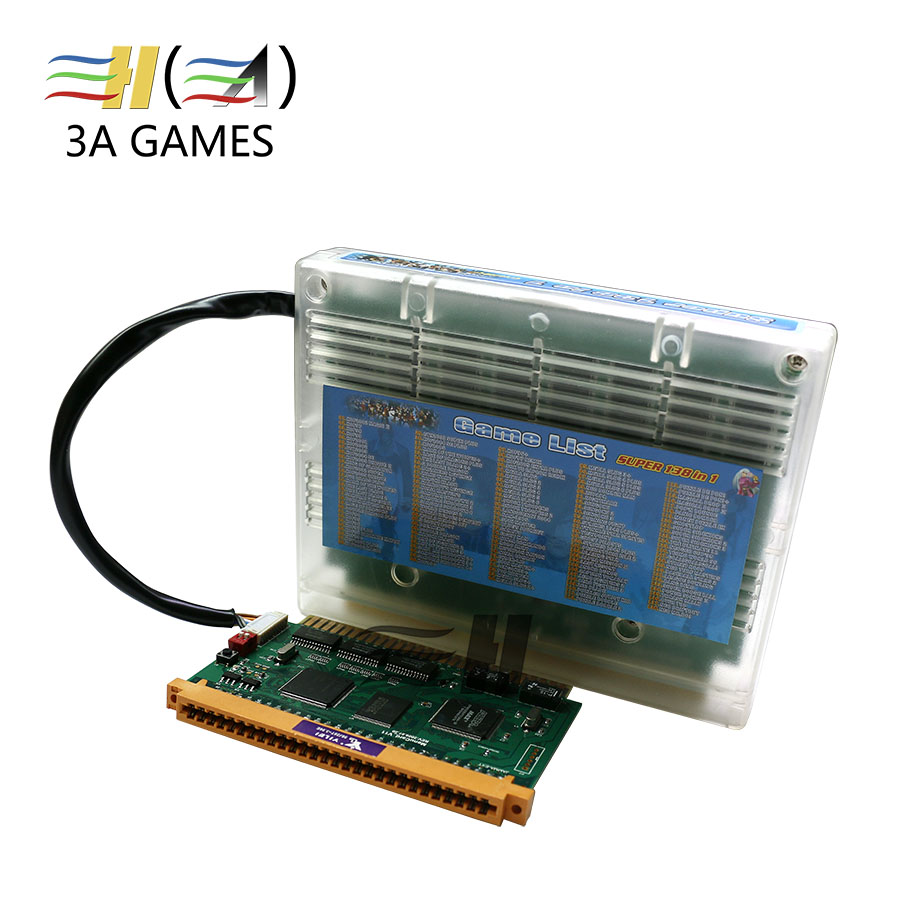 SNK Game PCB Board Cassette Cartridge Neo Geo Jamma Multi Games SNK 138 in 1 Multi Game Cartridge Mvs 138 in 1 jamma cartridge new arrival free shipping game elf 750 in 1 jamma multi game pcb can deal with cga