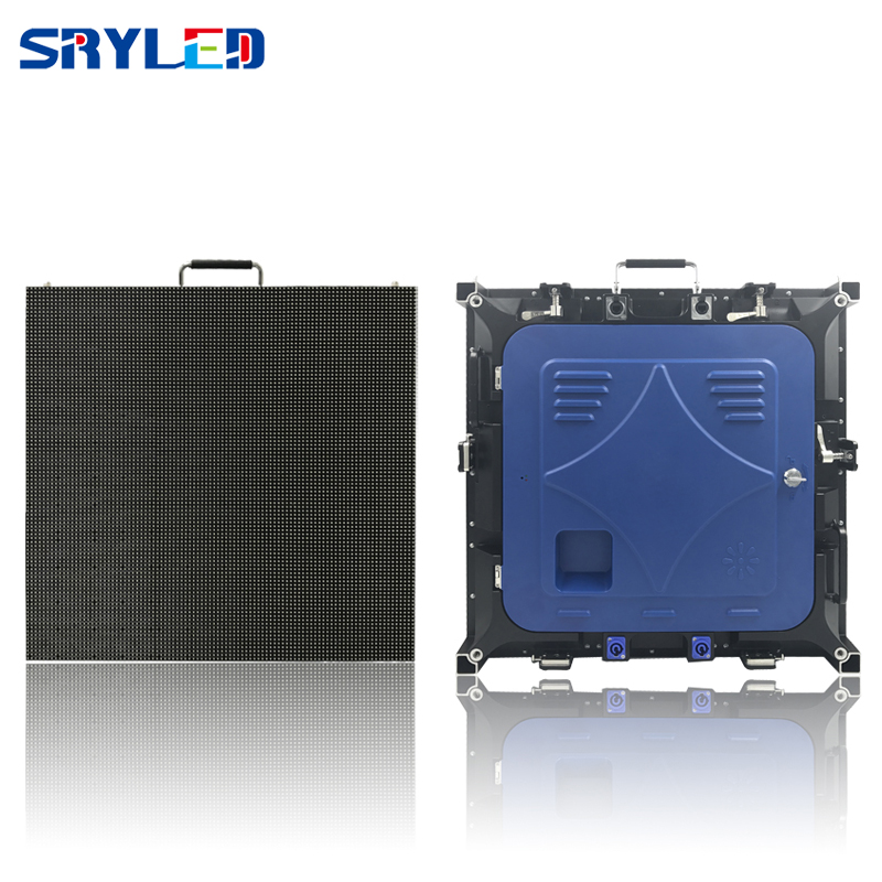 576*576mm Indoor smd p6 led cabinet full color advertising rental indoor led video wall screen