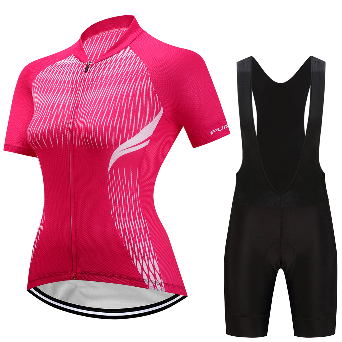 Fualrny Summer Women MTB Bike Cycling Clothing Breathable Mountian Bicycle Clothes Ropa Ciclismo Quick-Dry Cycling Jersey Sets