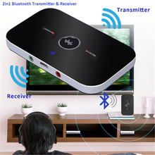 Cdragon Receiver Bluetooth Audio Player Portable TV Audio Adapter Aux 3.5mm 2 in 1 Home Stereo Wireless Receiver Transmitter