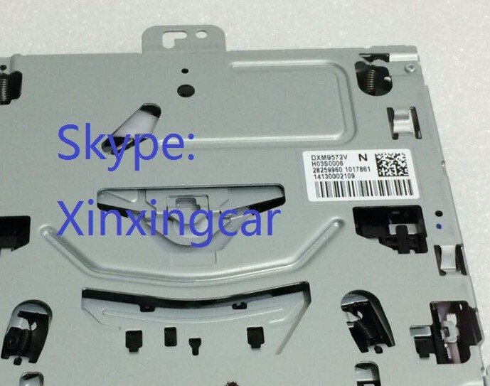 Free Shipping Brand new CD Changer DXM9572V DXM9571V DXM9570V DXM9572 for VW RENAULT