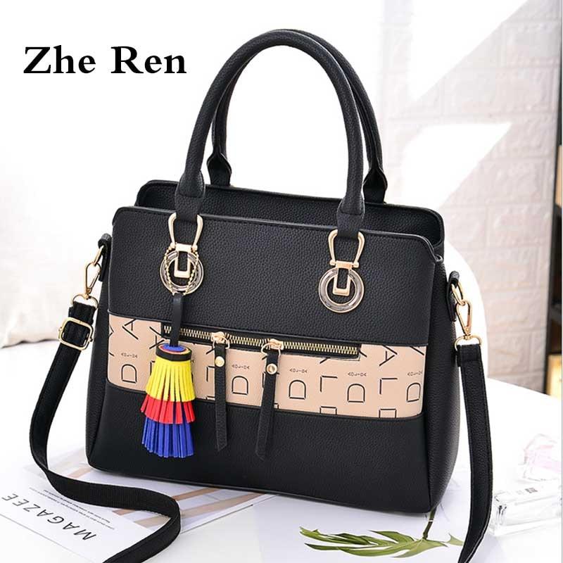 bags for women 2018 modis women's big bag trend alphabet slung female luxury Handbags realer women bags designer crossbody bag