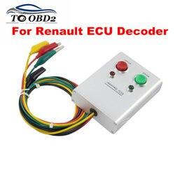 Do dekodera Renault ECU uniwersalny ECU kod narzędzie silnika systemu immobilizera kod IMMO dekoder ECU dla Renault benzyny i oleju napędowego