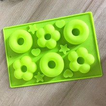 doughnut cake molds with different shapes chocolate Baking Cake silicone mold