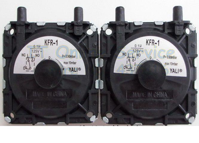 10 dalių / partijos katilas, dujinio vandens šildytuvo slėgio - Matavimo prietaisai - Nuotrauka 6