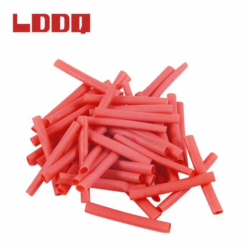 LDDQ 530pcs ความร้อนหดท่อหดตัวอัตราส่วน 2:1 ความร้อน Contra แขนสาย termoretractil PVC ท่อห่อสาย Bagged