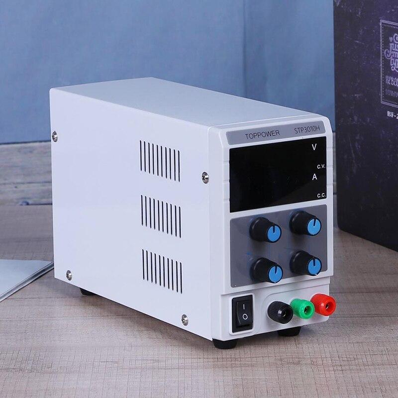0 30 В 0 10A Регулируемый цифровой Дисплей DC Питание коммутации Источники питания регулятор напряжения 4 битный цифровой Дисплей (ЕС)