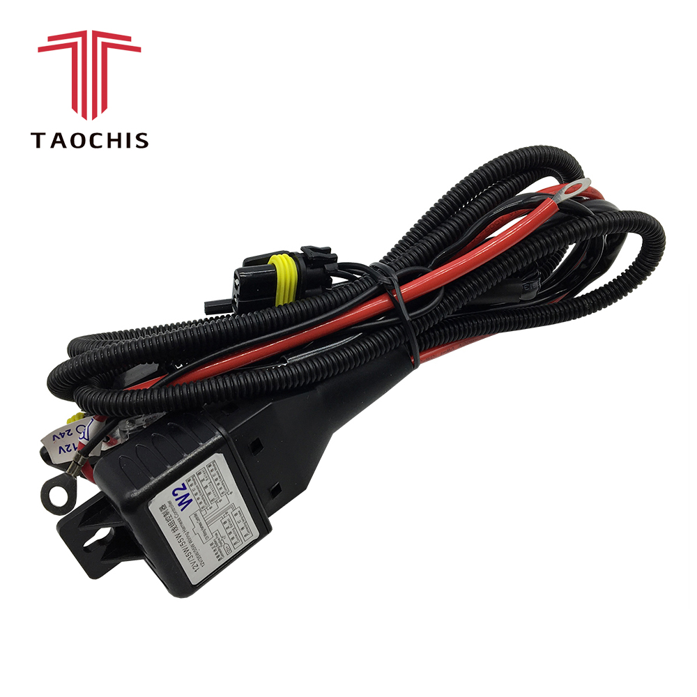 taochis 12v 35w 55w h4 wiring harness controller relay control for hella 3r g5 3 5 koito q5 wst al projector lens cable wire in wire from automobiles  [ 1000 x 1000 Pixel ]
