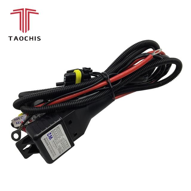 Fine Taochis 12V 35W 55W H4 Wiring Harness Controller Relay Control For Wiring 101 Akebretraxxcnl