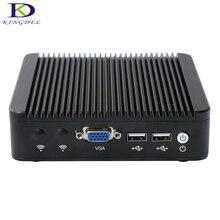 Без вентилятора PC алюминиевый корпус Intel Celeron J1900 Quad Core Mini PC, 4 LAN VGA, USB порт, HTPC