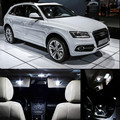 12v 27pc LED Bulb For Audi Q5 2014 Interior Dome Map trunk Vanity mirror door footweel glove box Lights Package Kit Car Stying