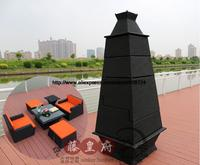 Ourdoor Rattan Sofa Set Tower Pyramid combination 4 Seat Garden Rattan Furniture Sofa Set Wicker Patio Furniture Set HFA109