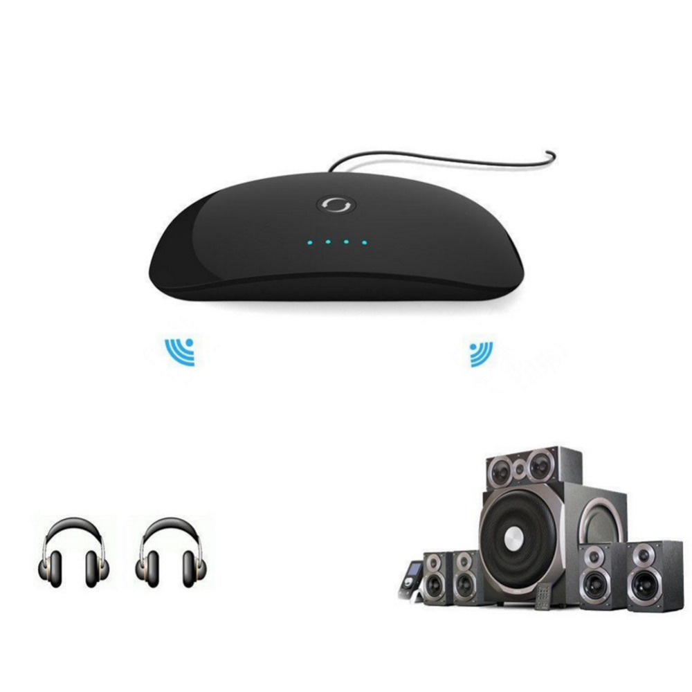 새로운 사운드 효과 무선 Bluetooth 오디오 송신기 스테레오 음악 스트리밍 수신기 어댑터 DSP DigitalSoundFieldProcessing