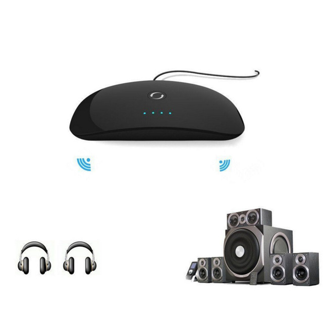 New Sound effect Wireless Bluetooth Audio Transmitter Stereo Music Streaming Receiver Adapter  DSP DigitalSoundFieldProcessing