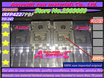 Aoweziic 2017+ 100% new imported original  IRFP4227PBF IRFP4227 TO-247 FET 200V 65A g4pc30k irg4pc30k to 247