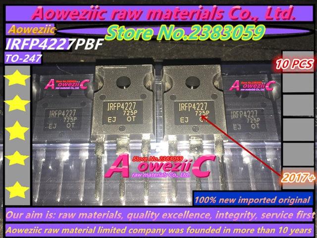 Aoweziic 2017 + 100% novo importado original irfp4227pbf irfp4227 para 247 fet 200 v 65a