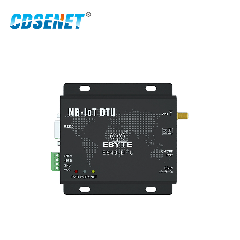 Image 2 - E840 DTU(NB 02) RS232 RS485 NB IoT Wireless Transceiver IoT Serial Port Server CoAP UDP Band5 868MHz Transmitter and Receiver-in Fixed Wireless Terminals from Cellphones & Telecommunications