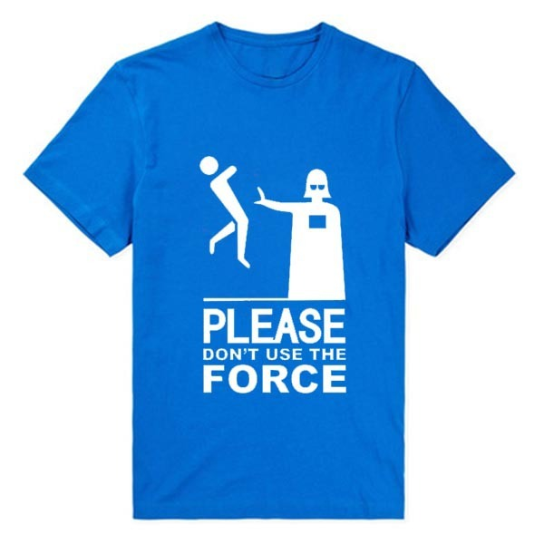 Star Wars Men T-Shirt – Please Don't Use The Force