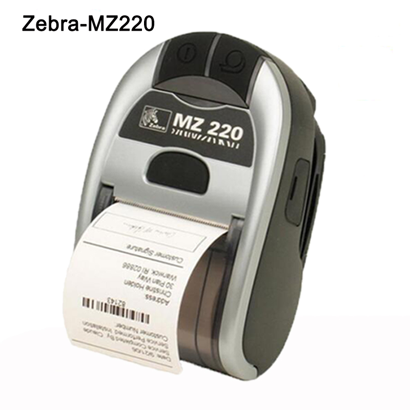 Special Price!!Full New for Zebra MZ 220 Mobile Thermal Printer Bluetooth Version original new for zebra mz 220 mobile thermal label printer mini portable bluetooth label printer stock clearance price