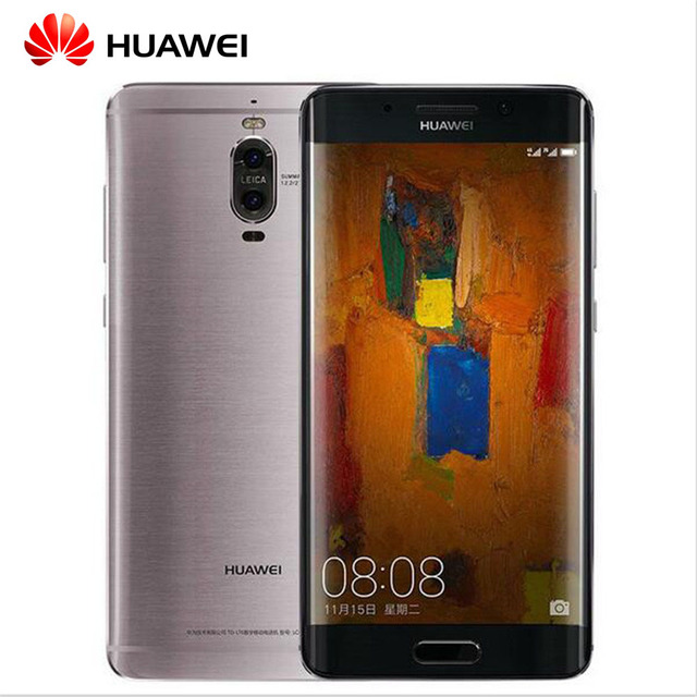 Original Huawei Mate 9 Pro 6GB 128GB 5.5inch LTE Infrared Android 7.0 Cell Phone 2K Screen Kirin 960 Octa Core Dual Rear Camera