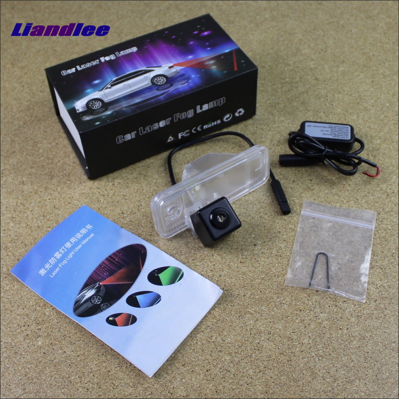 Liandlee Automobile Prevention Anti Fog Haze Laser Lamps For Hyundai Santa Fe 2013~2015 Collision Brake Light Warning Light seintex 85749 hyundai santa fe 2013 black