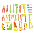 34 Unids/set Pretend & Play Niños Kit de Reparación de Herramientas Set de Juguetes Educativos para bebés de juguete set de reparación envío gratis