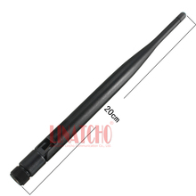 Free shipping  CCTV 1.2G Whip Omnidirectional Antenna , SMA-male connector, A/V Transmitter & Receiver