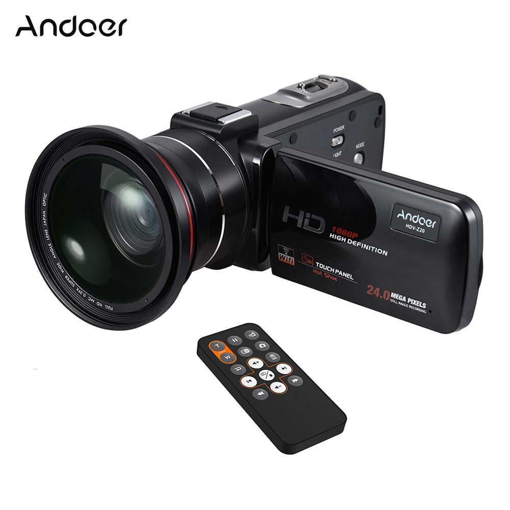 Andoer HDV Z20 1080 P Full HD 24MP WiFi Digitale Videokamera ...