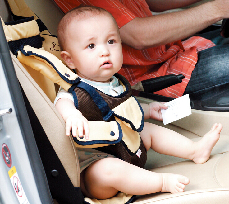 Wst 2014 Baby Car Suspenders School Bus Baby Belt Car Seat