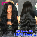 360 Lace Frontal Wigs 180% Density Brazilian Full Lace Human Hair Wigs 360 lace band frontal closure cap wigs For Black Women