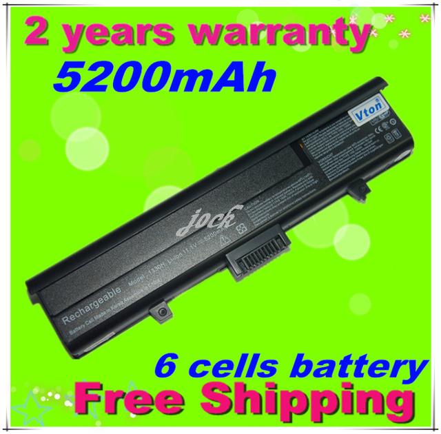 Jigu [precio especial] batería del ordenador portátil para dell xps m1330, para inspiron 1318 13, UM230 PU556 PU563 CR036, 6 CÉLULAS, envío gratis