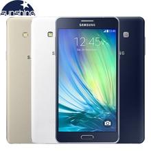 "Débloqué Original Samsung Galaxy A7 A7000 Téléphone Portable 4G LTE Octa-core 1080 P 5.5 ""13.0MP Dual SIM 2G RAM 16G ROM Smartphone"