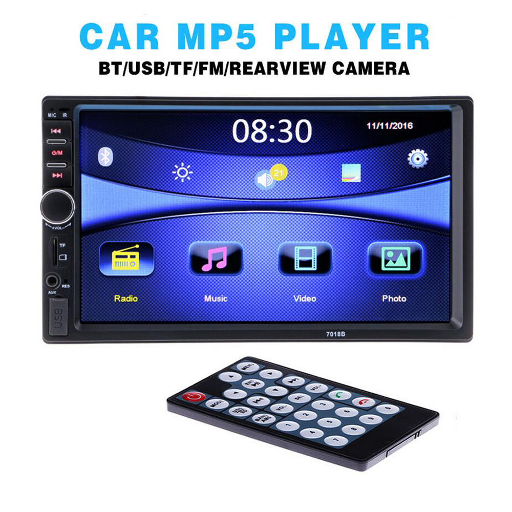 2 Din General Car Modely 7 palcový LCD dotykový displej Car Radio - Elektronika Automobilů