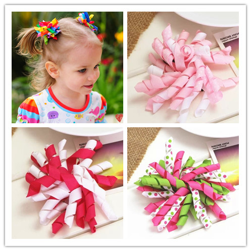 diy flower korker hair ribbon bow baby girls hair clips for girls women of grosgrain bows for hair children hairpins accessories 10pcs lot high quality hair band with grosgrain ribbon flower for girls handmade flower hairbow hairband kids hair accessories