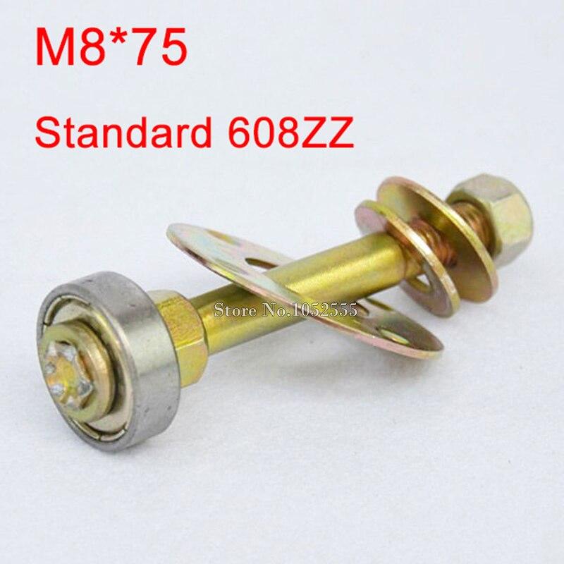 Streng 20 Stks M8 * 75 Schommelstoel Lager 608zz Standaard Kogellager Accessoires Meubelen Aansluiten Fittingen Schroeven Kit K197