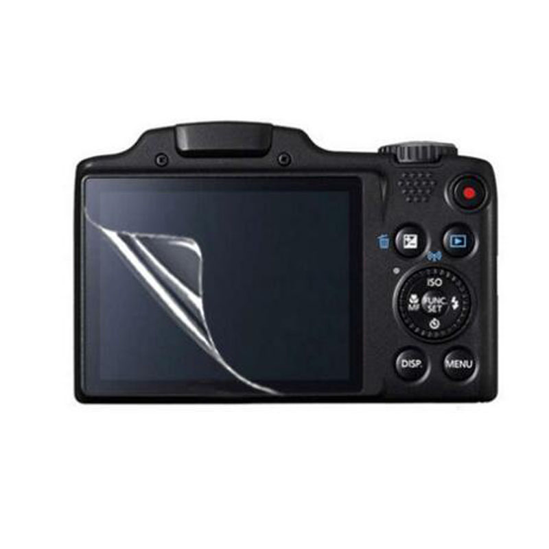 3x Clear Soft PET LCD Screen Protector Cover for <font><b>Canon</b></font> <font><b>Powershot</b></font> SX170 SX400 SX410 <font><b>SX430</b></font> <font><b>IS</b></font> SX510 SX500 SX530 HS Protective Film image