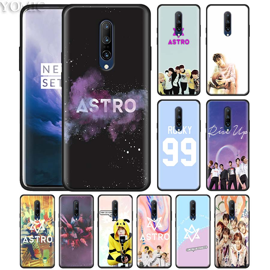 KPOP ASTRO Heart shaped Phone Case for font b Oneplus b font font b 7 b