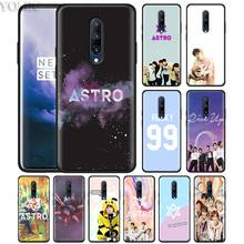 KPOP ASTRO Heart shaped Phone Case for Oneplus 7 7Pro 6 6T Oneplus 7 Pro 6T Black Silicone Soft Case Cover