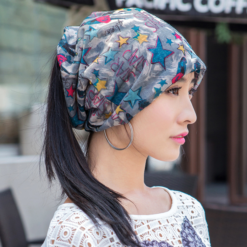 2016 Limited Hot Sale Print Adult Autumn Winter Hat Cap Korean Lady Confinement Head Chemotherapy Turban Female Leisure Scarf