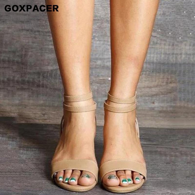 Round Toe Wedge Heel Shoes