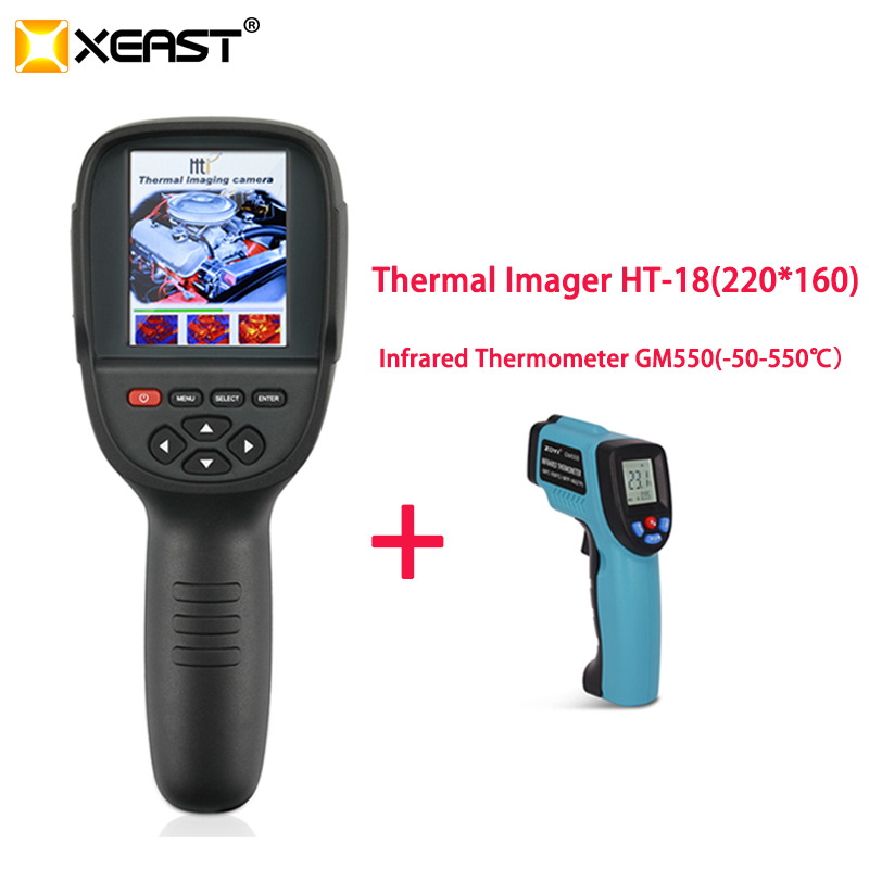2018 Hot Sale Thermal Imager HT 18 come with 220x160 Infrared Imaging Camera with 3 2
